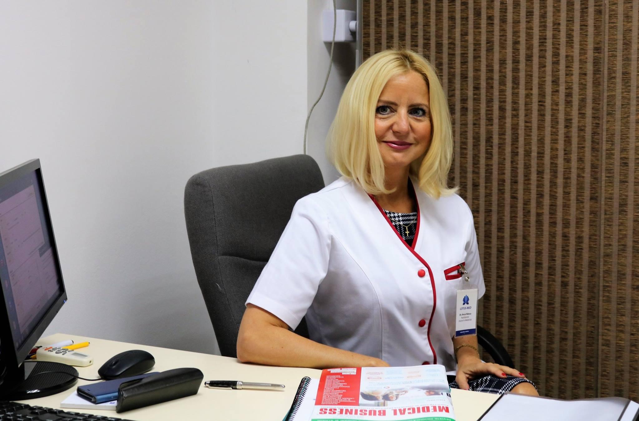 Dr. Anca Hancu Doctor in Nutritie